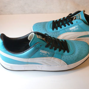 PUMA GV SPECIAL TEAL BLUE WHITE BLACK RETRO